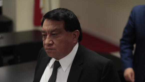 José Luna Gálvez fue excluido en primera instancia por el JEE Lima Centro 2. (Foto: Hugo Pérez /GEC)