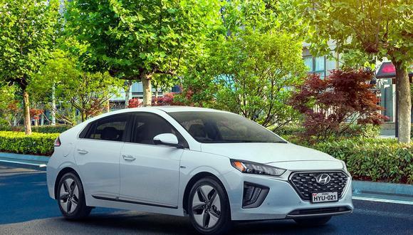 Hyundai IONIQ, la línea híbrida-eléctrica de la marca coreana. (Foto: Difusión)