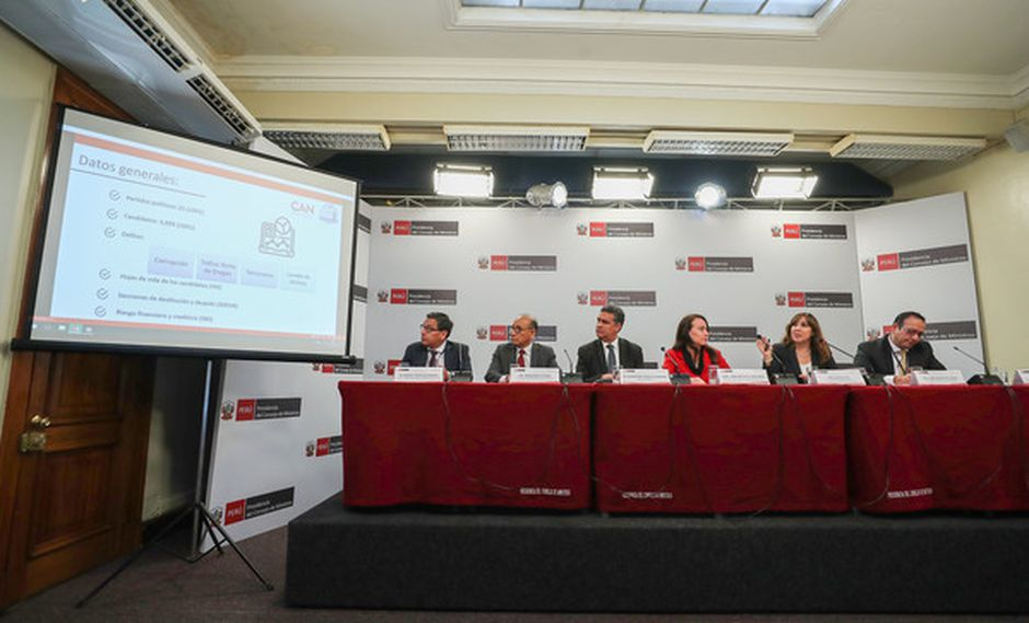PCM lanza plataforma para acceder a los antecedentes de los candidatos de cara a las elecciones del 2020. (Foto: PCM).