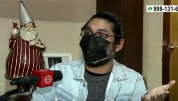 Joven de 26 años denuncia suplantación en vacunación contra el COVID-19. (Captura: América Noticias)