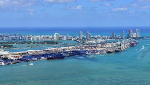 Puerto de Miami. (Foto: EFE).