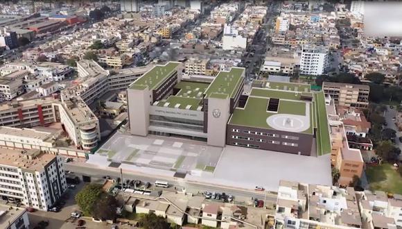 El nuevo hospital de la Policía podría ayudar a atender a los policías afectados por el COVID-19. (Imagen: Mininter)