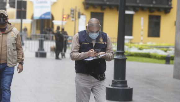 Fiscal Reynaldo Abia indicó que hasta el momento el presidente no ha fijado fecha ni lugar para la toma de su testimonio. (Fotos: Mario Zapata Nieto / GEC)