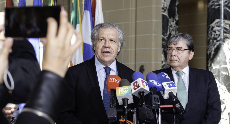 Luis Almagro, secretario de la OEA
