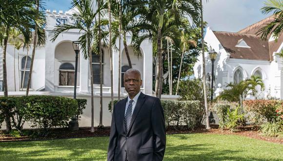 El hombre detrás del impulso digital es John Rolle, de 54 años, quien se ha desempeñado como gobernador del banco central del país desde el 2016. (Foto: Bloomberg)