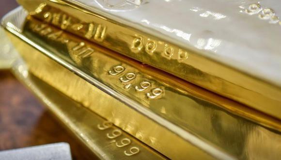Los futuros del oro en Estados Unidos caían 0.7% a US$ 1,762.50 la onza. (Foto: Reuters)