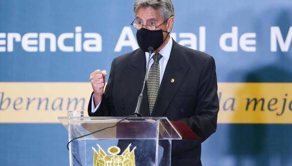 Francisco Sagasti aseguró que no se puede ser ingenuo ante intentos de desestabilizar a su gobierno. (Foto: GEC)