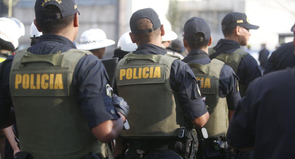 Policías serán tratados en una clínica privada por sospecha de coronavirus. (Foto: GEC)