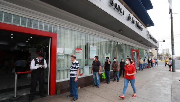 Bono Suspensión Perfecta de Labores: los trabajadores que han caído en esta figura excepcional pronto podrán recibir un subsidio del estado. (Foto: Andina)