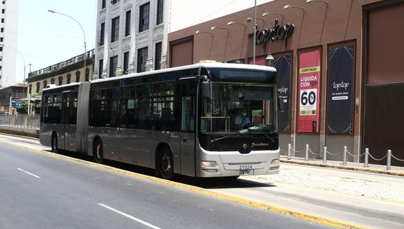 Servicios de transporte público en Lima y Callao tendrán horario especial por el feriado de Semana Santa. (Foto: Jesús Saucedo)