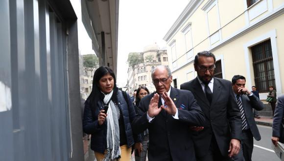 Pedro Patrón Bedoya había comentado que esperaba que se verifique que no había irregularidades en su proceso. (Foto: GEC)