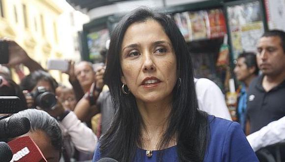 Nadine Heredia negó haber recibido sobornos de Odebrecht. (Foto: GEC)