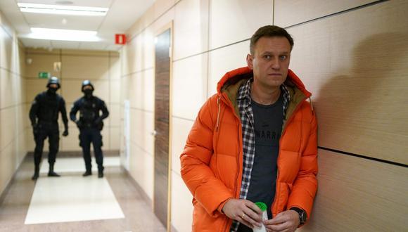 Tres laboratorios europeos concluyeron que el activista había sido envenenado con una sustancia neurotóxica del tipo Novichok, concebida con fines militares en la época soviética. (AFP)