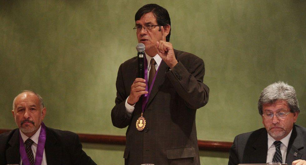 Ciro Maguiña anunció el 20 de mayo a la Comisión de Expertos. (Foto: Andina)
