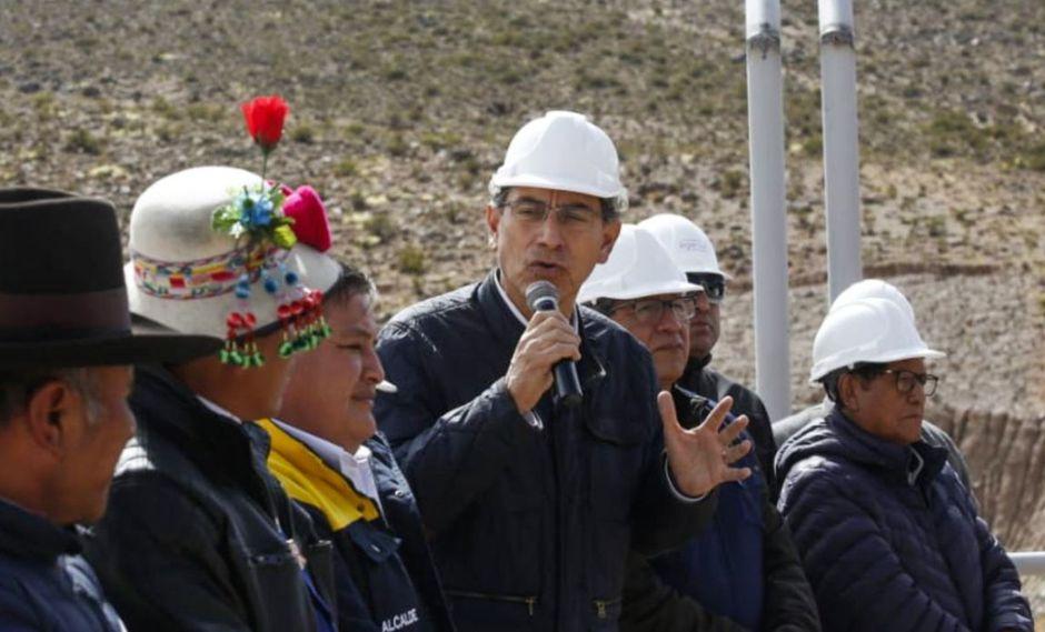 Martín Vizcarra espera que pronto haya diálogo con las autoridades de Arequipa. (Foto: Andina)