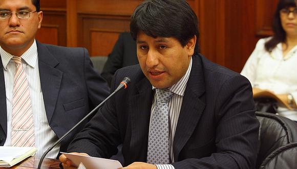 Paulo Vilca Arpasi estará a cargo del Viceministerio de Gobernanza Territorial. (Foto: Gob.pe)