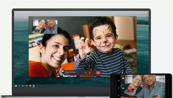 WhatsApp también ha asegurado que en el futuro se ampliará esta función para incluir las llamadas de voz y video en grupo. (Foto: Captura/WhatsApp).