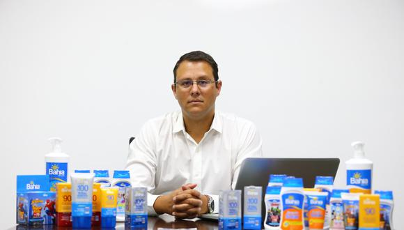 Martín Pérez, gerente comercial de Laboratorios Portugal. (Foto: Hugo Curotto/ GEC)