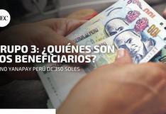 Bono Yanapay de 350 soles: conoce si eres beneficiario solo con tu DNI