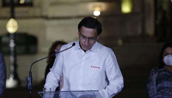 El Ministerio Público investiga al expresidente Martín Vizcarra por los presuntos de colusión, cohecho y asociación ilícita para delinquir en el caso Club de la Construcción.  (Foto: GEC)