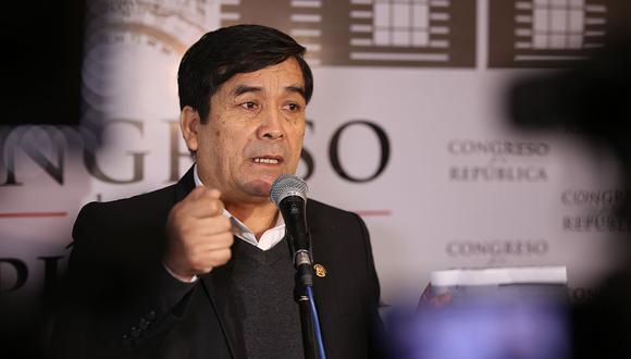 El presidente del Poder Judicial, Víctor Prado, consideró que las dos sentencias contra Benicio Ríos eran suficientes para proceder con su captura. (Foto: USI)
