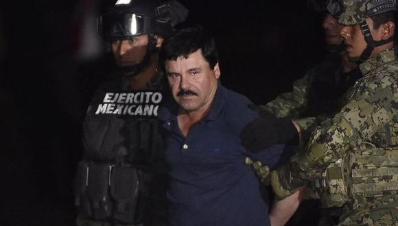 Joaquín 'El Chapo' Guzmán Loera. Su fortuna está estimada en 11.000 millones de dólares. (Foto: AFP)