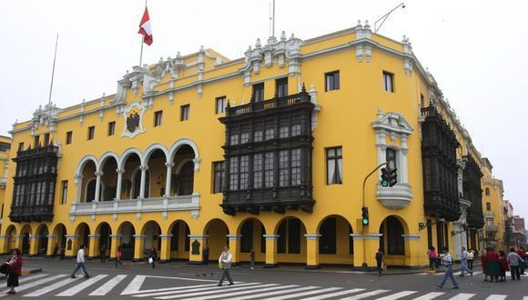 Municipalidad de Lima. (Foto: Difusión)