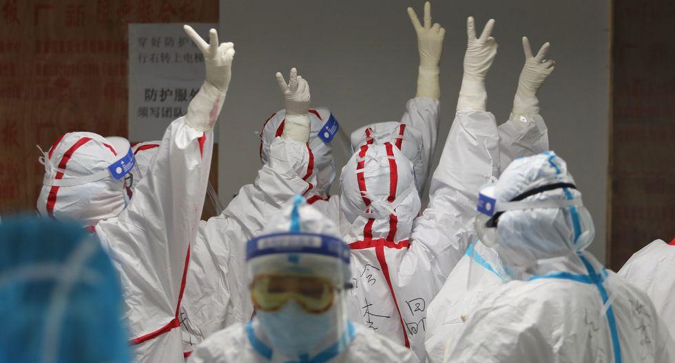 China no ha registrado nuevas muertes diarias por primera vez desde la publicación de estadísticas de víctimas del coronavirus, que comenzó en enero, anunciaron este martes las autoridades sanitarias. (Foto: AFP)