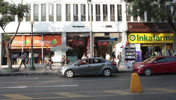 InRetail Pharma se pronunció sobre el abastecimiento de Inkafarma y Mifarma. (Foto: Diana Chávez | GEC)