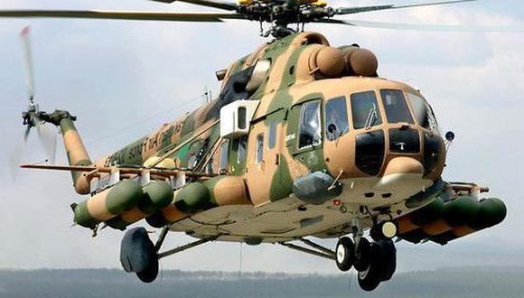 Foto referencial: Mi-171Sh