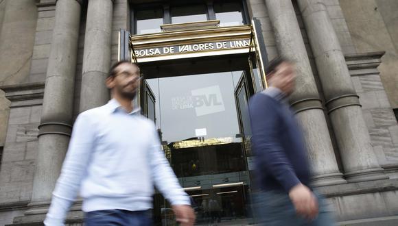 Bolsa de Valores de Lima. (Foto: Manuel Melgar)
