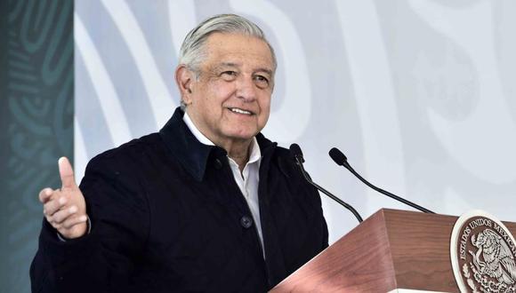 El presidente de México, Andrés Manuel López Obrador. (Foto: AFP / Mexican Presidency).