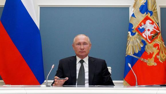 El Kremlin rechazó las críticas al presidente ruso, Vladímir Putin. (Foto: Sputnik / Alexei Druzhinin / Kremlin vía Reuters)