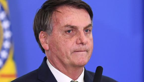 Jair Bolsonaro, presidente de Brasil. (Foto: Difusión)