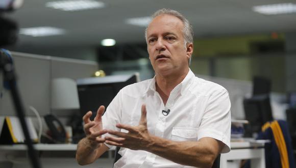 """""""Mañana se terminará de presentar y se está procesando la información con la ayuda de abogados"""", mencionó Nano Guerra García. (Foto: Paco Sanseviero)"""