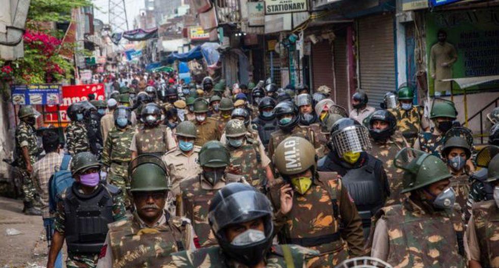 India puso este martes el país en confinamiento total. (Foto: Getty Images, via BBC Mundo)