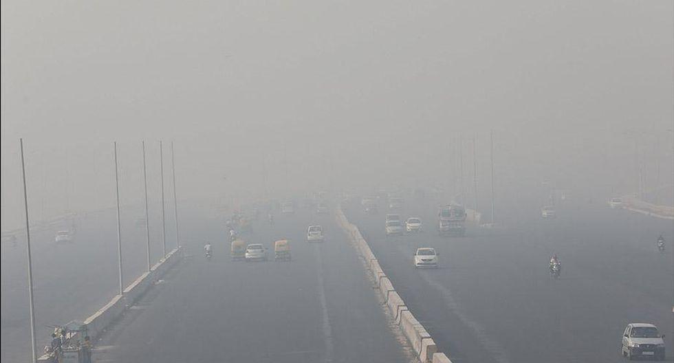 Según señalaron, en India están 15 de las 20 ciudades más contaminadas del mundo. (Foto:EFE)