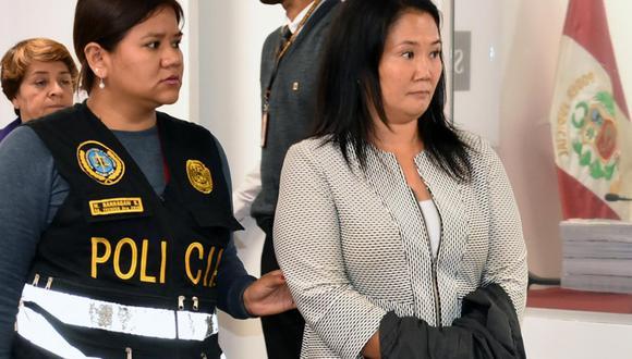 Keiko Fujimori cumple desde el 31 de octubre del 2018 una orden de prisión preventiva por 36 meses en su contra. (Foto: Poder Judicial)