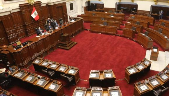Las modificaciones aprobadas con 89 votos a favor, 35 en contra y  2 abstenciones fijan ley de financiamiento de partidos políticos, asimismo, elimina la prohibición de la promesa de entrega de dádivas. (Foto: Congreso de la República)