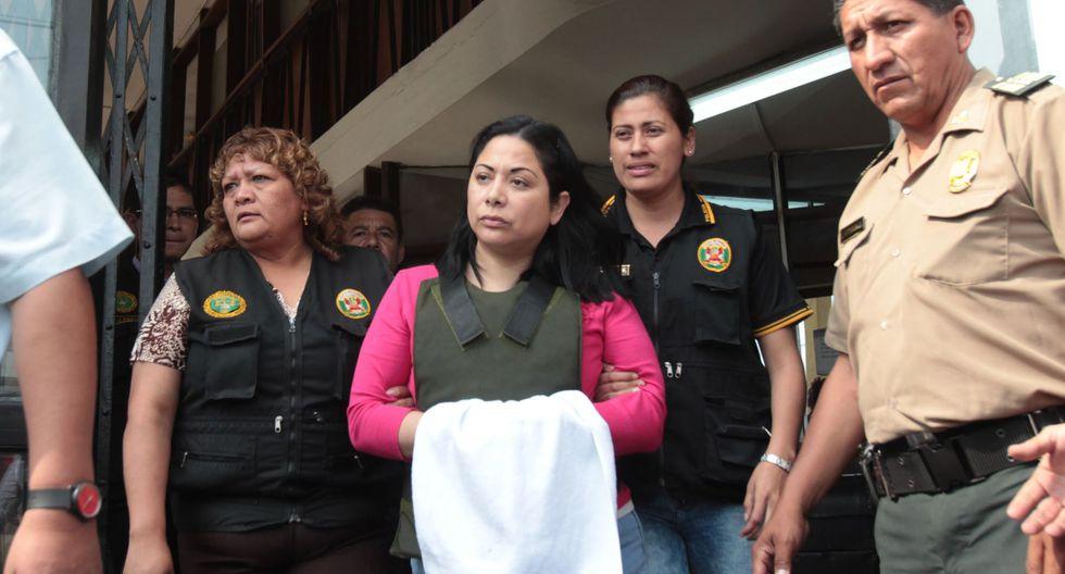 Entre los condenados figuran Ludith Orellana, hermana de Rodolfo Orellana. (Foto: Andina)