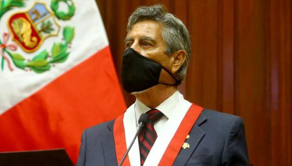 """""""Yo creo que es un pedido inadecuado, eso de intervenir desde el Ejecutivo en otra rama"""", señaló Sagasti. (Foto:Presidencia)"""