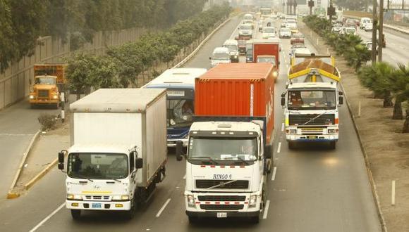 Sutrán sancionó a más de 90 mil camiones el 2013