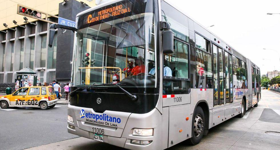 Empresas concesionarias del Metropolitano dejarían de operar desde el miércoles 1 de abril en medio de la cuarentena por coronavirus. (Foto: Andina)