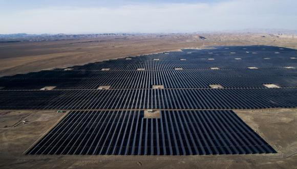 Planta de energía solar Rubí.