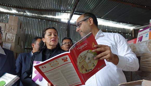 Ministro Alfaro visitó Ayacucho y anunció que presupuesto para infraestructura educativa en la región se duplicará. (Foto: Difusión)