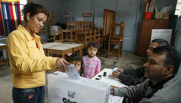 ONPE determinó el orden de las cédulas de votación para el 7 de octubre. (Foto: Andina)