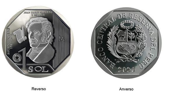 Moneda de Juan Pablo Viscardo y Guzmán.