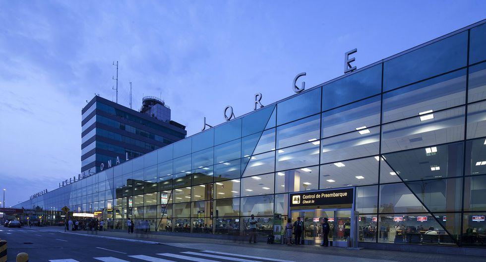 Aeropuerto Internacional Jorge Chávez. (Foto: Difusión)
