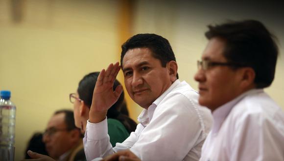 Vladimir Cerrón fue gobernador regional de Junín y es actual secretario general de Perú Libre. (Foto: GEC)