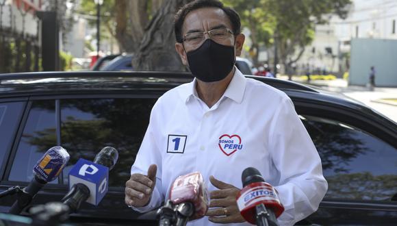 Martín Vizcarra recibió una orden de comparecencia con restricciones en lugar de prisión preventiva. (Foto: GEC)